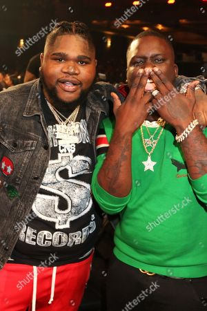 Stock Image of Fatboy SSE & Zoey Dollaz