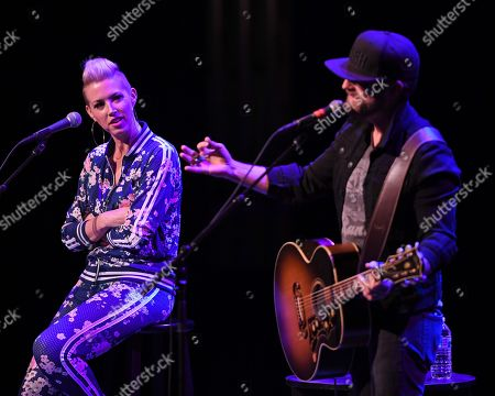 Editorial image of Thompson Square in concert at The Parker Playhouse, Fort Lauderdale, USA - 07 Oct 2018