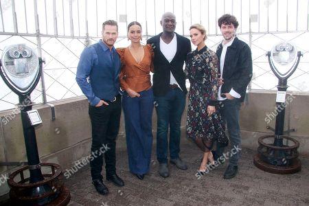 Jason Lewis, Parisa Fitz-Henley, Peter Mensah, Arielle Kebbel and Francois Arnaud