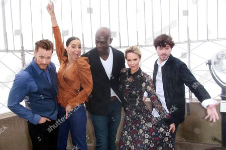 Editorial picture of 'Midnight, Texas' Cast Visit The Empire State Building, New York, USA - 08 Oct 2018