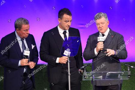 Harry Redknapp, John Terry and Geoff Shreeves