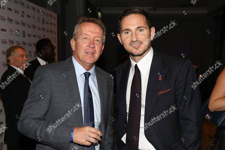 Alan Curbishley and Frank Lampard