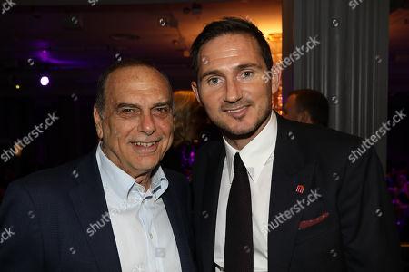 Avram Grant and Frank Lampard