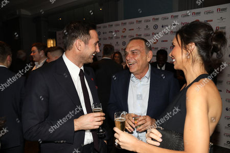 Stock Picture of Frank Lampard, Christine Lampard and Avram Grant