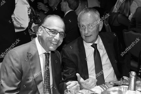 Stock Picture of Theo Paphitis and Richard Scudamore