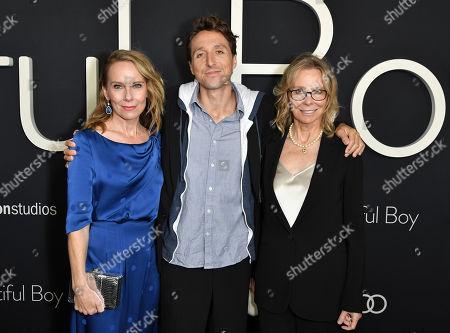 Amy Ryan, Nic Sheff and Vicki Sheff