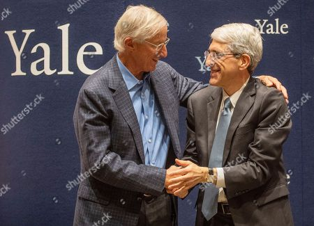Editorial image of Professor William D. Nordhaus awarded the Nobel Prize for Economic, New Haven, USA - 08 Oct 2018