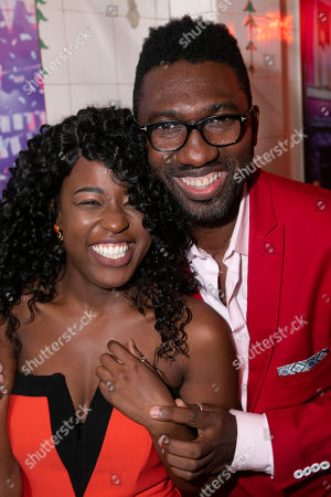Stock Picture of Gabrielle Brooks (Viola) and Kwame Kwei-Armah (Adaptation/Director)