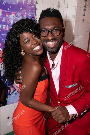Stock Image of Gabrielle Brooks (Viola) and Kwame Kwei-Armah (Adaptation/Director)