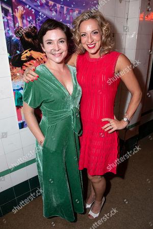 Kaisa Hammarlund and Lizzi Gee (Choreographer)