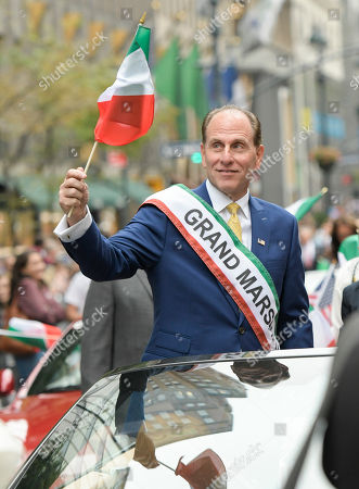 Editorial photo of 74th  Annual Columbus Day Parade in New York, USA - 08 Oct 2018