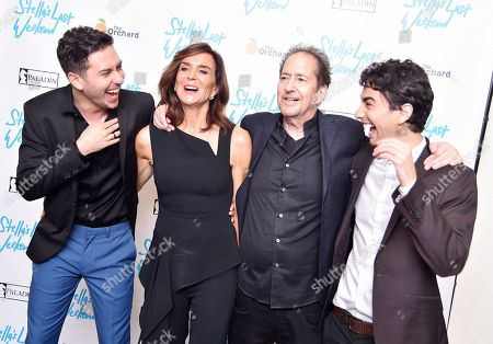 Nat Wolff, Polly Draper, Michael Wolff, and Alex Wolff