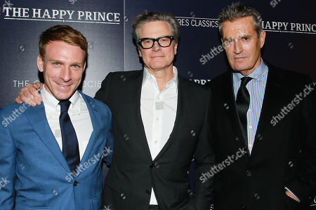 Edwin Thomas, Colin Firth and Rupert Everett