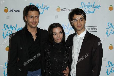 Nat Wolff, Julia Macchio, Alex Wolff