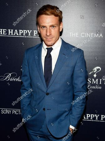 """Edwin Thomas attends a special screening of """"The Happy Prince,"""" hosted by Sony Pictures Classics and The Cinema Society at iPic Cinema, in New York"""