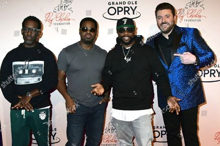 Nathan Morris, Wanya Morris, Shawn Stockman, Boyz II Men, Chris Young