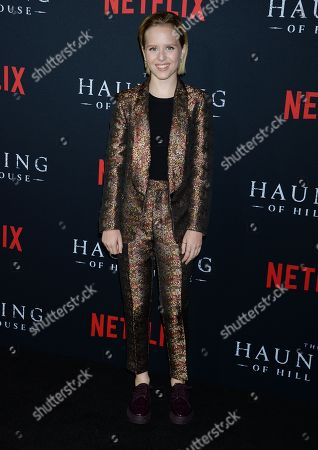 Editorial image of 'The Haunting of Hill House' TV show premiere, Arrivals, Los Angeles, USA - 08 Oct 2018
