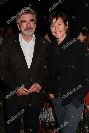 Stock Picture of Tom Freston and Carey Lowell