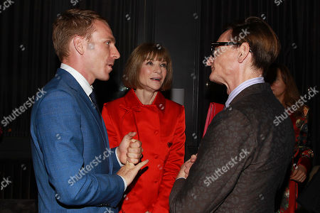 Edwin Thomas, Anna Wintour and Hamish Bowles