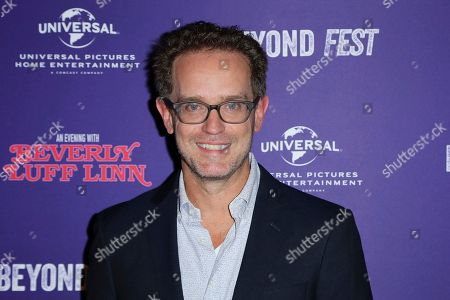 """Sam Bisbee attends the LA Premiere of """"An Evening with Beverly Luff Linn"""" at the Egyptian Theatre, in Los Angeles"""