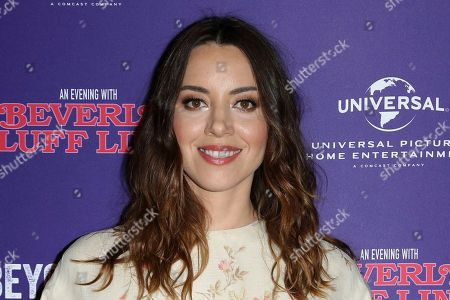 Aubrey Plaza Attends The LA Premiere Of An Evening With Beverly Luff Linn At