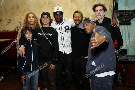 "Stock Photo of Sunny Suljic, Olan Prenatt, Gio Galicia, Xavier ""X"" Jernigan, Na-Kel Smith, Styles P, Ryder McLaughlin"