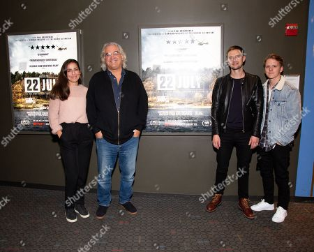 Editorial image of '22 July' BAFTA film screening, New York, USA - 08 Oct 2018
