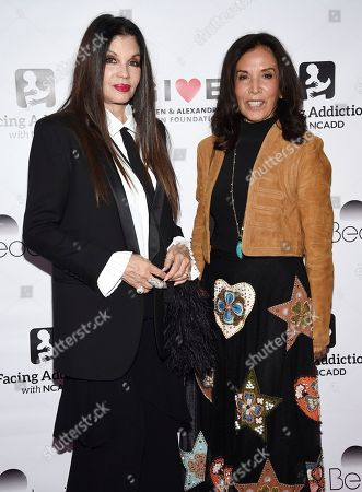 Loree Rodkin, Olivia Harrison. Jewelry designer Loree Rodkin, left, and Olivia Harrison attend the Facing Addiction with NCADD (National Council on Alcoholism and Drug Dependence) gala at the Rainbow Room, in New York