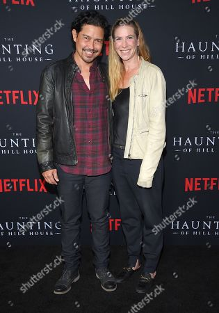Stock Image of Anthony Ruivivar and Yvonne Jung