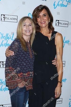 Holly Hunter and Polly Draper