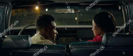 Algee Smith as Khalil, Amandla Stenberg as Starr Carter