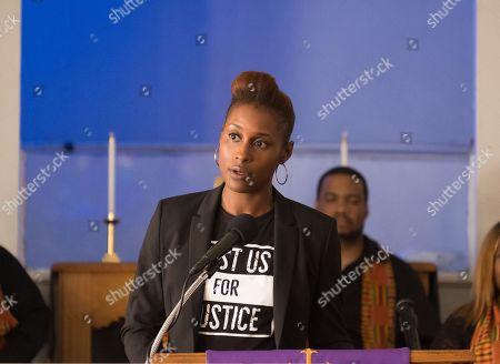 Issa Rae as April Ofrah