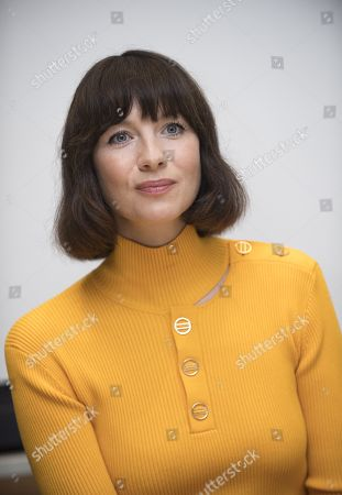 Editorial photo of Outlander press conference at the Four Seasons Hotel, Beverly Hills, USA - 08 Oct 2018