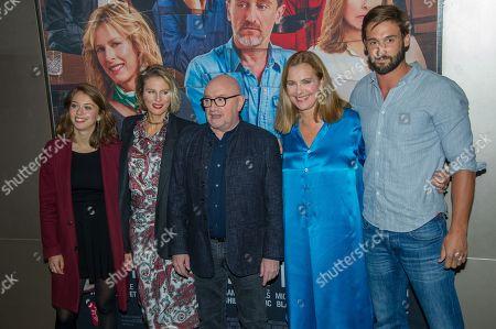 Jeanne Guittet, Karin Viard, Michel Blanc, Carole Bouquet, Guillaume Labbe