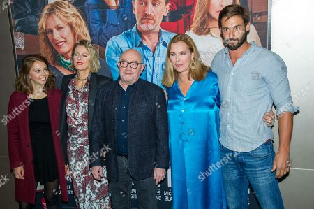 Stock Picture of Jeanne Guittet, Karin Viard, Michel Blanc, Carole Bouquet, Guillaume Labbe