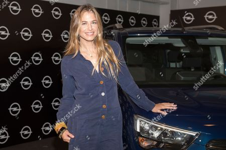 Spanish top model Martina Klein promotes new Opel 'Combo Life'