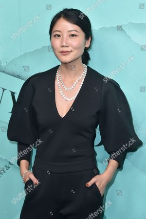 Editorial photo of Tiffany Blue Book Collection: The Four Seasons of Tiffany jewelry collection launch, Arrivals, New York, USA - 09 Oct 2018