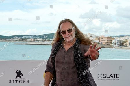 US special make-up effects creator and TV producer Greg Nicotero poses at the Sitges Fantastic Film Festival, in Sitges, near Barcelona, Spain, 09 October 2018. The event runs from 04 to 14 October.