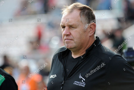 Dean Richards - Newcastle Falcons Director of Rugby. RC Toulon v Newcastle Falcons, Heineken, European Cup, Stade Felix-Mayol, Toulon, France, Sunday 14th October 2018. ***Please credit: ©Fotosport/David Gibson***