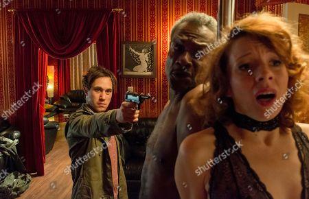 Ludwig Trepte as Alex Edel, Errol T. Harewood as General Arnold Jackson