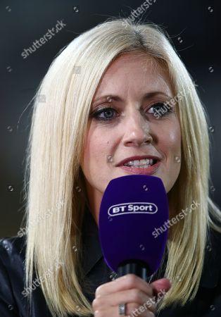 Lynsey Hipgrave BT Sports presenter