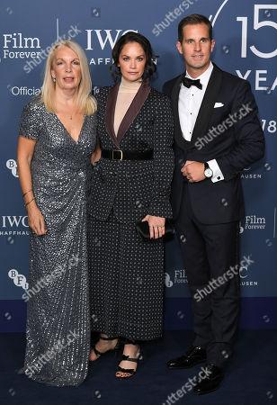 Amanda Nevill, Ruth Wilson and Christoph Grainger-Herr