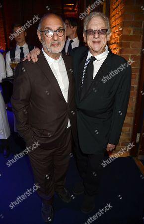 Alan Yentob and Jeremy Thomas