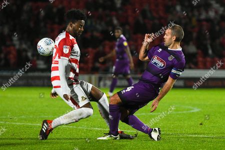 Editorial photo of Doncaster Rovers v Grimsby Town FC, EFL Trophy., Group Stage - 09 Oct 2018
