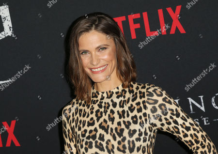 Editorial picture of 'The Haunting of Hill House' TV show premiere, Arrivals, Los Angeles, USA - 08 Oct 2018