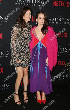 Annabeth Gish and Elizabeth Reaser