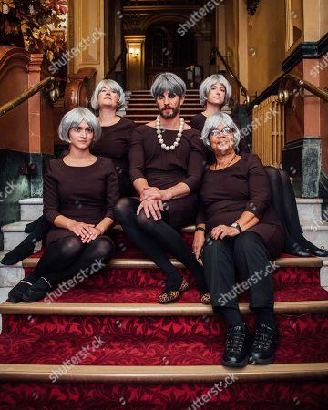 Editorial picture of Jonny Woo's Un-Royal Variety Theresa May Choir photocall, Hackney Empire, London, UK - 09 Oct 2018