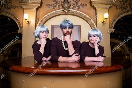 Stock Picture of Jonny Woo and The Theresa May Choir