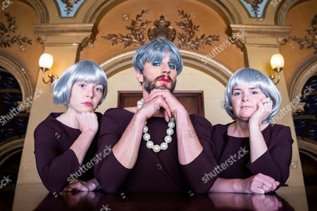 Editorial picture of Jonny Woo's Un-Royal Variety Theresa May Choir photocall, Hackney Empire, London, UK - 09 Oct 2018