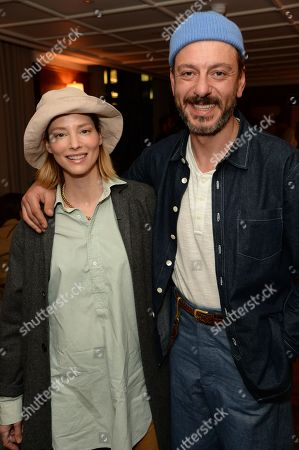 Stock Picture of Sienna Guillory and Enzo Cilenti